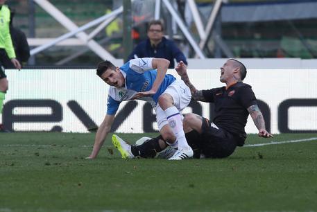 Soccer: Serie A; Chievo-Roma