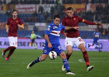 Soccer: serie A, Roma-Sampdoria