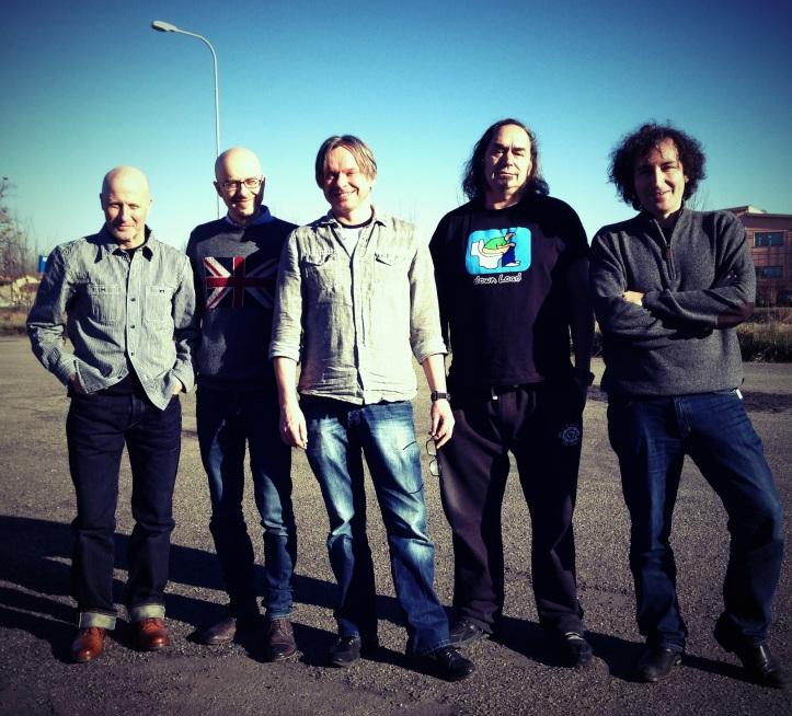 David Rhodes, Stefano Riccò, Roger Ludvigsen, Paolo Vinaccia, Giovanni Amighetti