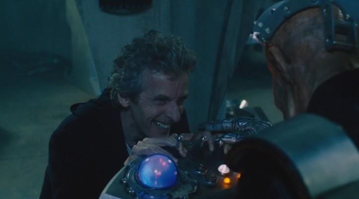 Sì, nonostante tutto, alla scena del Dottore e Davros che ridono assieme mi sono commosso. Sono un vecchio sofficione.
