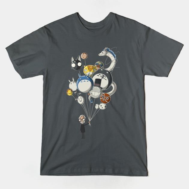 MIYAZAKIS-BALLOONS-T-Shirt